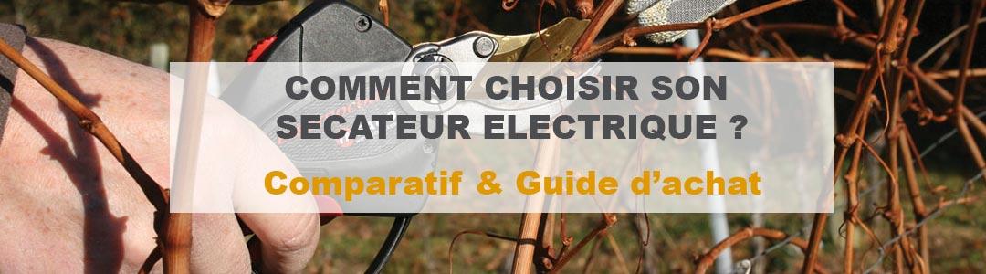 meilleur sécateur électrique