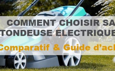 Tondeuse électrique : Notre comparatif et avis