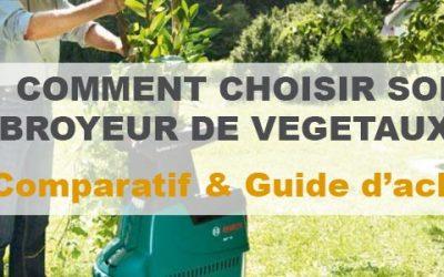 Broyeur de végétaux : Notre comparatif et avis