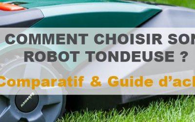 Robot tondeuse : Notre comparatif et avis