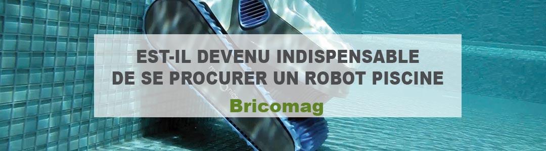 Est-il devenu indispensable de se procurer un robot piscine ?