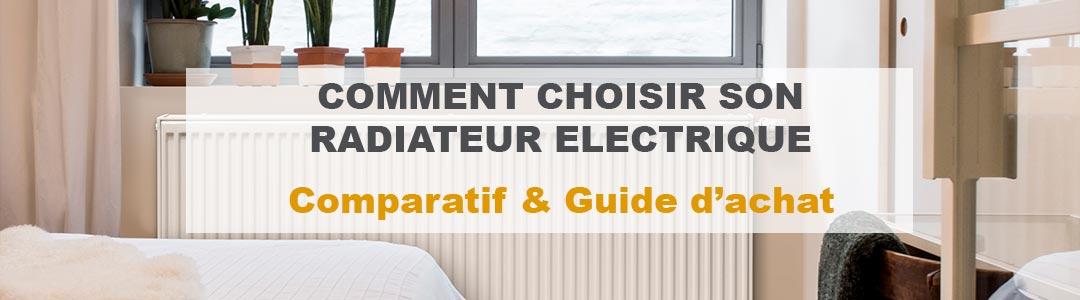 Radiateur électrique : Notre comparatif et avis