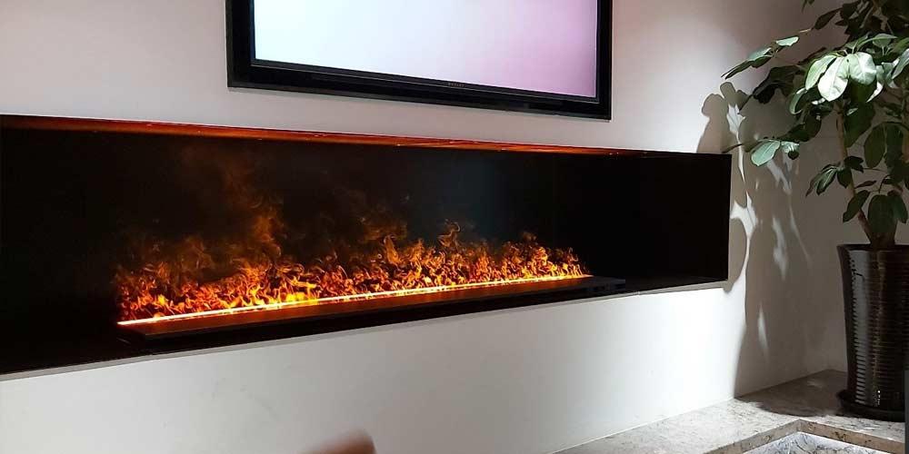 Est-ce qu'une cheminée électrique peut chauffer une pièce ?